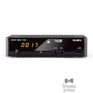 Sven ТВ-тюнер DVB-T/T2 с медиаплеером SVEN EASY SEE-149 LED