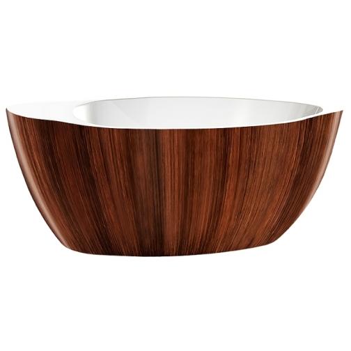 Отдельно стоящая ванна LAGARD Versa Brown Wood 6944902