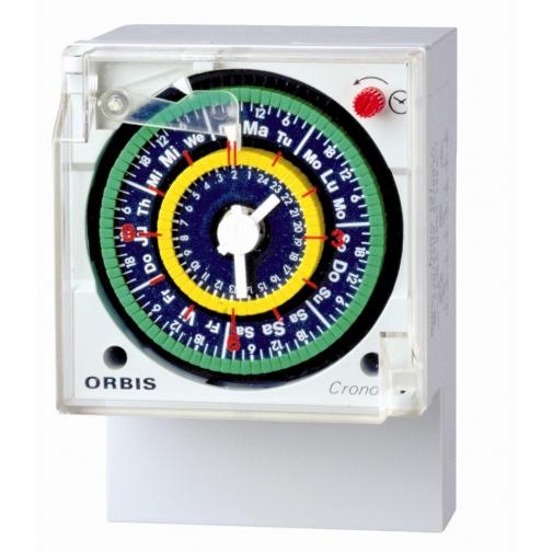 Реле времени суточное ORBIS CRONO QRD-6453494