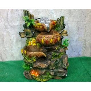 Декоративный фонтан | Настольный для дома | Водопад-Чаша 28-5254992