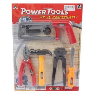 Игровой набор строительных инструментов Power Tools, 7 предметов Shenzhen Toys-37720324