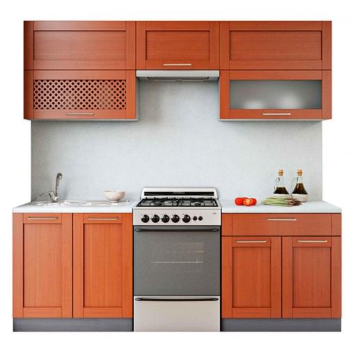 """Кухня """"Симпл массив 220 блюм""""-759843"""