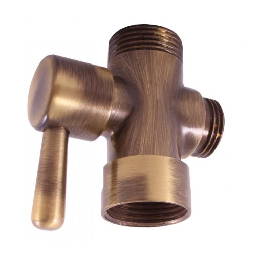 Переключатель керамический Rav Slezak MD0629SM, БРОНЗА 6760365