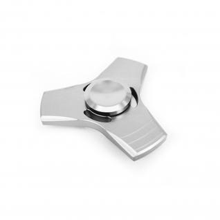 Металлический cпиннер для рук Alloy, серебристый Fidget Spinner-37709768