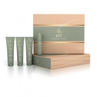 Ollin Professional Keratine Royal Treatment - Набор (шампунь+бальзам+сыворотка+блеск)