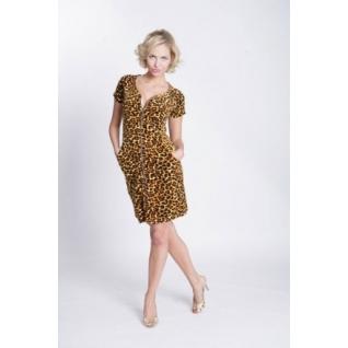 Халат леопард LT0083/1.