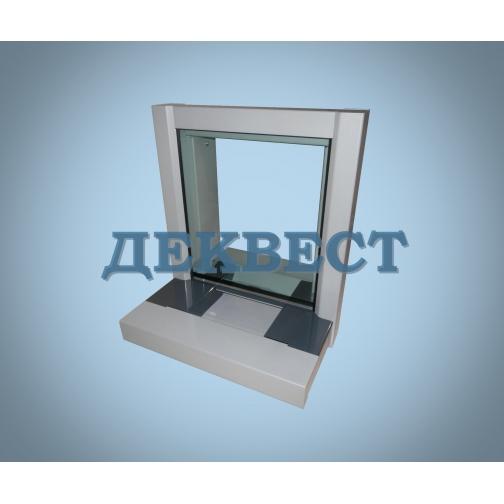 Передаточное кассовое окно ПУ-4Н (неподвижный лоток).-494638