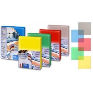 Обложки цветной пластик ProfiOffice, А4, желтый-399033