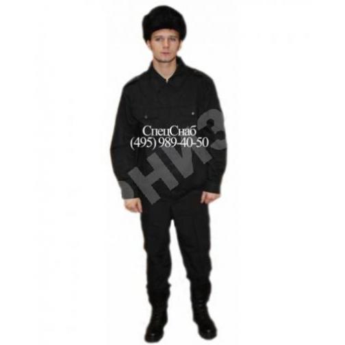 Костюм летний Охранник черного цвета(куртка+брюки)