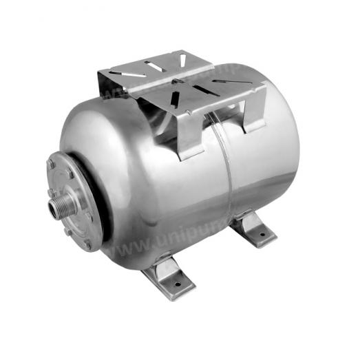 Гидроаккумулятор 100л Unipump/UNIPRESS горизонтальный, нержавеющая сталь UNIPUMP 100310