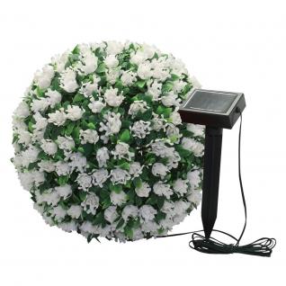 Светильник садово-парковый Feron E5209 Цветочный шар белый-8692206