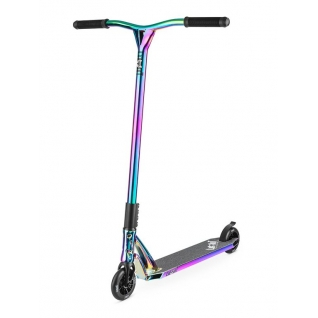 Трюковый самокат Limit Pro Stunt Scooter LMT06 2017 Neo Chrome (хамелеон)