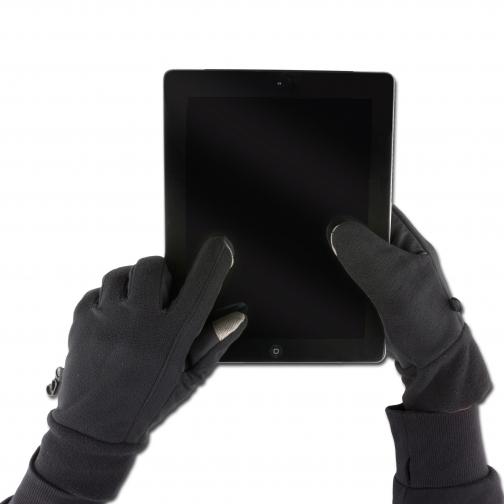 Highlander Перчатки Highlander Touchscreen, цвет черный 5025789 1