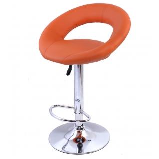 Стул барный MIRA (Оранжевый)-6405406