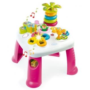 Развивающий игровой стол Cotoons (звук), розовый Smoby-37721636