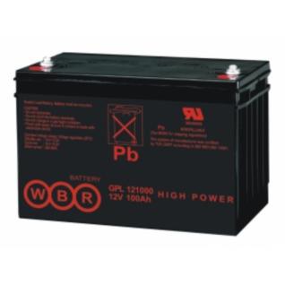 WBR Батарея WBR GPL 121000 (12 В, 100 а/ч) GPL121000