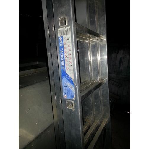 Трехсекционная алюминиевая лестница Алюмет 3х12-5000472
