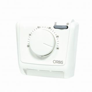 Термостат ORBIS Clima MLW мех. (нагрев./конд.) IP 20