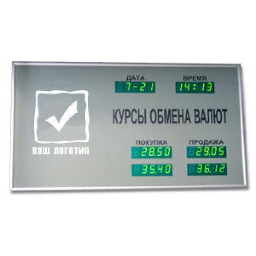 Табло котировок валют TEK-2-448014