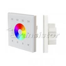 Arlight Панель Sens SR-2820B-AC-RF-IN White (220V,RGBW,1 зона)