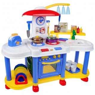 """Кухня """"Помогаю маме"""" с водой и набором аксессуаров (свет, звук) ABtoys-37704378"""