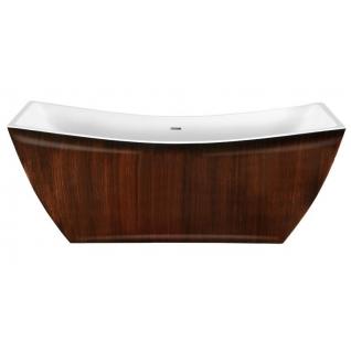 Отдельно стоящая ванна LAGARD Issa Brown wood