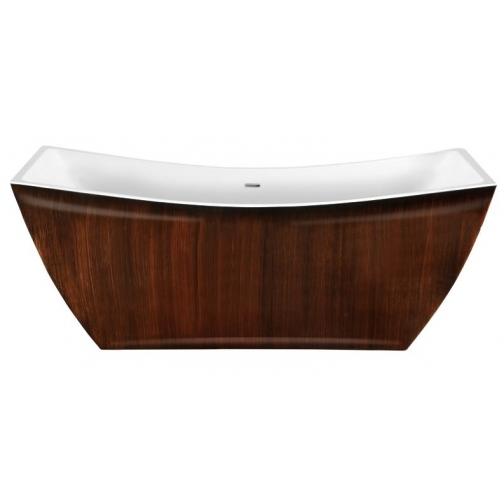 Отдельно стоящая ванна LAGARD Issa Brown wood 6944862