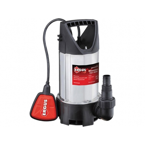ERGUS Дренажный насос ERGUS Drenaggio 750F для грязной воды 917677