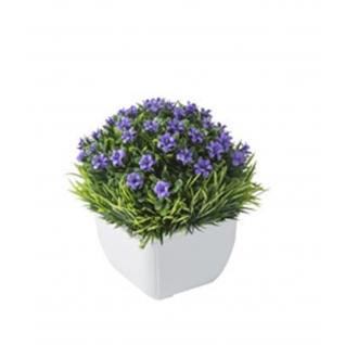 Цветок искусственный GRASS фиолетовый-7170152