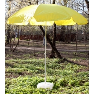 Зонт 1.8 м с поворотом желтый-9320002