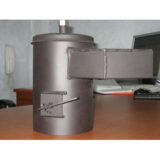 Переходник дымохода вертикальный с регулятором тяги-2063404