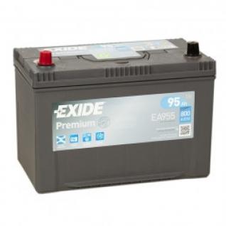 Автомобильный аккумулятор EXIDE EXIDE Premium EA955 (95L) 800А прямая полярность 95 А/ч (306x173x223)-5789036
