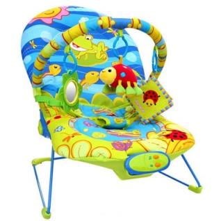 Стульчик-шезлонг LA-DI-DA Счастливый лягушонок BR20208-2-36999579