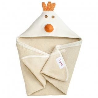 3 Sprouts Детское полотенце с капюшоном Цыплёнок 3 Sprouts