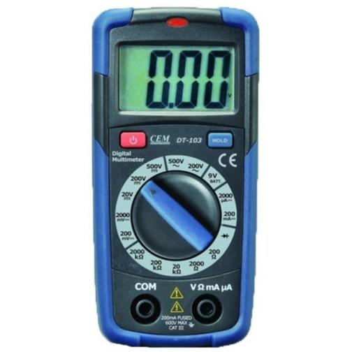 Карманный цифровой мультиметр СЕМ DT-103-6766007