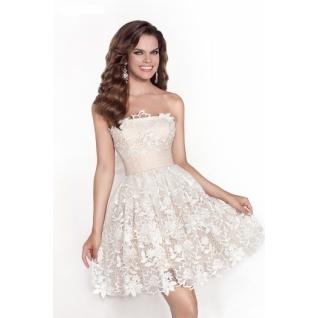 Платье свадебное Короткие свадебные платья⇨Мелиса-661968