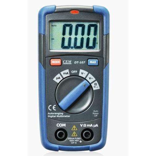 Карманный цифровой мультиметр СЕМ DT-107-6766009