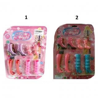 Набор обуви для куклы Beauty, 4 пары Shantou-37718656