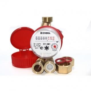 """Cчетчик для горячей воды ENBRA EV-AM1 1/2"""""""