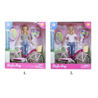 "Кукла ""Дефа Люси"" - Летние прогулки с велосипедом Defa Lucy-37708751"