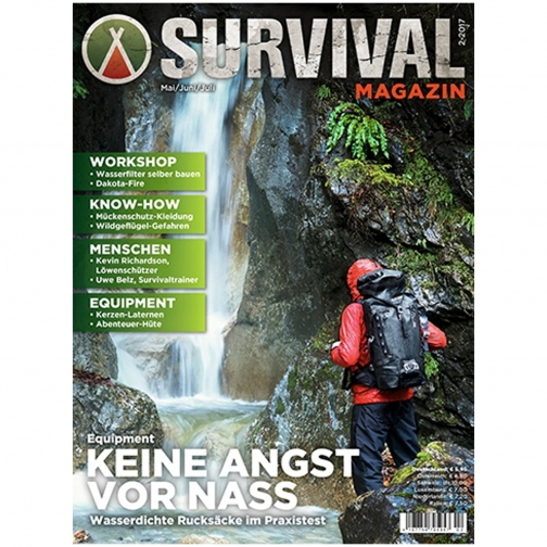 Made in Germany Журнал Survival Magazin 02/2017-9239681
