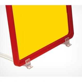 Рамка пластиковая А6, прозрачный, 10шт/уп