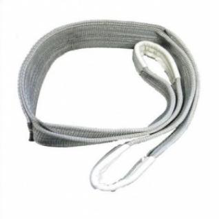 Строп текстильный СТП грузоподъемность 4т, длина 4м, ширина 120мм, серый-8167195