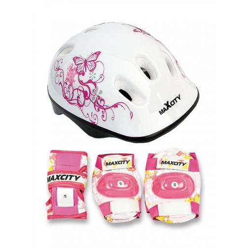 Набор защиты для детей MaxCity Caribo (белый)-5999589