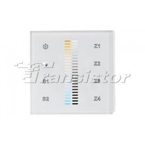 Arlight Панель Sens SR-2830B-AC-RF-IN White (220V,MIX+DIM,4зоны) 9050246