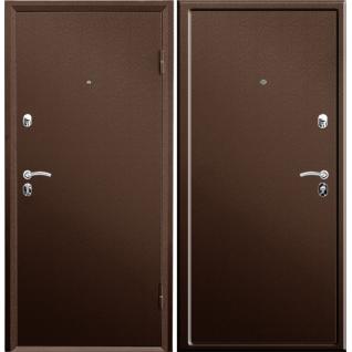 Дверь металлическая Valberg Б4 ПРАКТИК 2066/980/104 R/L