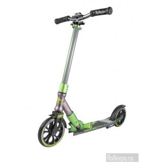 Детский самокат Tech Team TT SPORT 180 (зеленый) с колесами 180мм Techteam-37649438