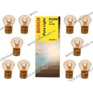 Лампа 12V21/4W BAZ15d BOSCH 215-415639