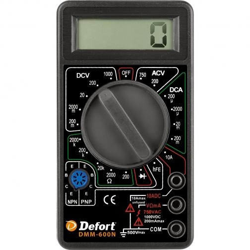 Мультитестер Defort DMM-600N-6768562