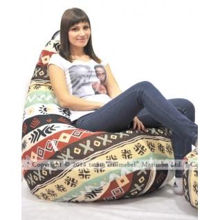 """Кресло-мешок """"Марокко"""", авторский гобелен-5675263"""